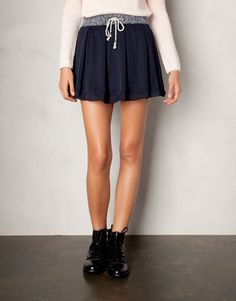 PLEATED SKIRT - NEW PRODUCTS - WOMAN - Hong Kong Pull & Bear
