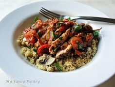 Pan Fried Chicken Breast with Rustic Herb Tomato Sauce