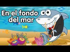 La Canción Del Mar Una Orquesta De Animales Doremila Youtube Fondo De Mar Canciones Infantiles Rimas De Animales