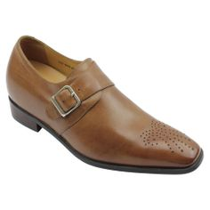 2013 fashion men Yellow brown Dress height increase shoes Sku:K6535   Height:7cm