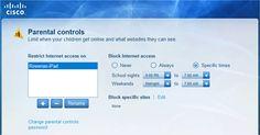 Cisco Connect contrôle parental Contrôle Parental, Parental Control, Ipod Touch, Internet, Le Web, Cloud, Connection, Parenting, School