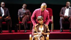 """Using Color To Create Two Worlds - Lighting designer Declan Randall describes how he used color to create the past and present worlds of Nelson Mandela's ex-wife in """"Winnie: The Opera."""""""
