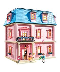 Another great find on #zulily! Deluxe Dollhouse Set #zulilyfinds