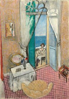 Henri Matisse, Interior at Nice, 1919/ 1920, Oil on canvas, 132,1 x 88,9 cm, Art Institute, Chicago