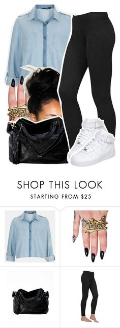 """""""Why would you do that? Tell me you love me. Play with my hair. kiss me. And then somehow forget it all the next day."""" by queen-tiller ❤ liked on Polyvore featuring Topshop, Joyrich, Lauren Ralph Lauren and NIKE"""