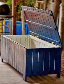 Pallet Projects : Pallet Project - Pallet Storage Trunk