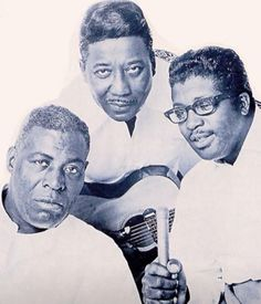 Howlin' Wolf, Muddy Waters, and Bo Diddley
