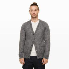 Sweater / Cardigan / Mohair // Club Monaco