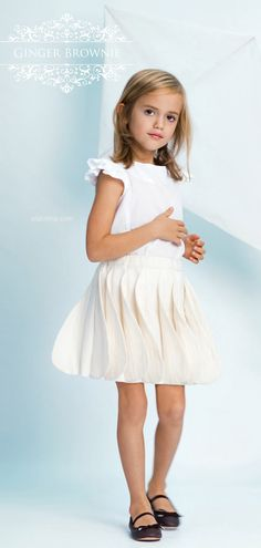 ALALOSHA: VOGUE ENFANTS: Feel the wind with The Ginger Brownie new SS15 collection