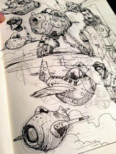 Ian McQue's doodle