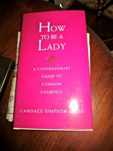 I loved this book, great guide on manners and etiquette - useful information to me :)