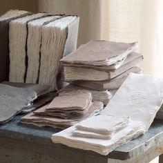Cote bastide. Pressed paper. A textural marvel.