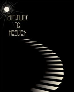 And she's buying a Stairway to Heaven.... Led Zeppelin classic Song Lyric Art Poster Print Music Gift #ledzeppelin #stairwaytoheaven #musicgift #nowspinning #ebay #songlyrics