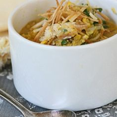 Check out our Corn and Crab Soup with Crispy Tortilla Strips recipe! It's a delicious Gulf Seafood take on a Southwestern favorite. Enjoy!