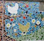 """a section of my chicken wall in Oaxaca"""