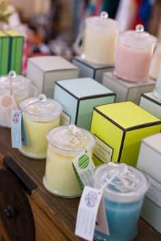 Glasshouse candles So in love with  Taha - caramel and vanilla And Galapagos - kaffir lime and cocoa butter