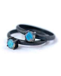 Etsy, labradorite-ring-black-oxidized-silver