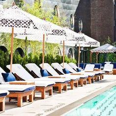 dream-downtown-hotel-pool-RESORTPASS0621 Austin With Kids, Bungalow On The Beach, Types Of Sushi, San Antonio Missions, San Antonio River, Hotel Pool, Dark Places, Island Resort, Pilgrimage