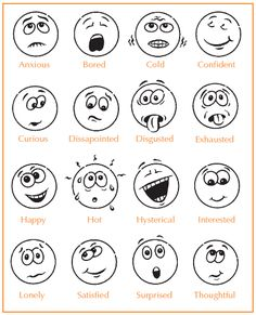 Feeling Faces Printables Easywokandbbq Nl Is Een Onderdeel Van Easycateringdrachten Feelings