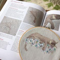 French Mook with my works 🇫🇷 🌷Les broderies de Marie & Cie No.3🌷私の作品が掲載されたフランスの本が、お店に届きました😻🎉当店販売分のみ、私の作った日本語の解説もお付けしています☘️ 「猫と雲」「マウスと花」の図案2点が、作り方付きで掲載になっています😃特に実物大パターンや作り方は、今までなかったような形で掲載されていますので、動物の刺繍に興味があるかたはぜひ☺️私とフランスの有名なMarie suarez先生で頑張って考えました💪🏻💪🏻💪🏻 私のお店は、プロフィールのリンクか、「cherin-cherin 」で検索してみてください☘️