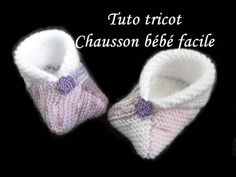 Crochet For Kids, Crochet Baby, Knit Crochet, Knit Baby Booties, Baby Boots, Crochet Shoes, Knitting Videos, Baby Kind, Filet Crochet