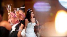 Toast | Traditional Gold and Orchid Empire Room Wedding | Becki Dickinson Photography | Leigh Pearce Weddings, Greensboro North Carolina Wedding Planner, Stylist, Coordinator