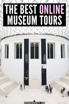 Learn about the best online museum tours and how you can explore famous museums, like the Louvre, the Vatican, and the British Museum from the comfort of your own couch. | virtual museum tours for students | virtual art museum tours | louvre museum virtual tours | virtual museum google | british museum virtual tour | guggenheim museum virtual tour | museums virtual tours | virtual museum tour | louvre virtual tour | free art museum