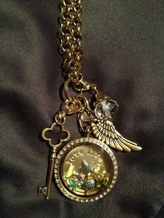 They say Gold is returning in a big way this fall. Do you have your locket yet?