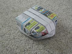 Newspaper Hat!                                                                                                                                                                                 More