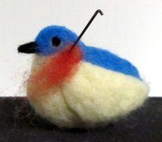 needle felted bird tutorial | LIVING FELT Blog!