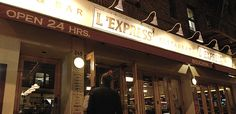 L'Express located at 20th and Park below our 55 unit apartment building is one of our favorite restaurants in the entire portfolio. The best part is that its open 24 hours a day.