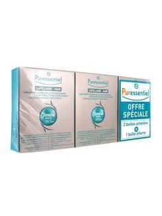 Puressentiel Complément Alimentaire Fortifiant Cheveux & Ongles Lot de 3 x 30 Capsules - Cocooncenter