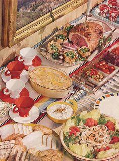 ham buffet - Buffet Retro Cuisine