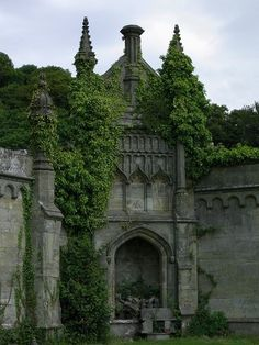 Margam Castle was a large Victorian era country house, built in Margam, Port Talbot, Wales, for Christopher Rice Mansel Talbot that now stands abandoned & overgrown! Beautiful Castles, Beautiful Buildings, Beautiful Places, Amazing Places, Wonderful Places, Places To Travel, Places To See, Hidden Places, Magic Places