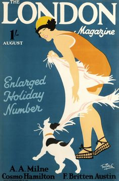 The London Magazine - Enlarged Holiday Number by Tom Purvis