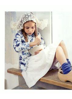 """""""Olandesi volanti"""" per #StylePiccoli con il piumino stampato di OVS Kids. #OVS #OVSpressclipping"""
