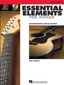 Essential Elements Guitar Book 2 - Book/CD (Essential Elements for Guitar) by Bob Morris. $12.49. Publisher: Hal Leonard Corporation; Pap/Com edition (December 26, 2012). Series - Essential Elements for Guitar. Publication: December 26, 2012