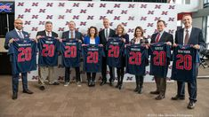XFL Commissioner Oliver Luck introduces 8 teams for inaugural season Xfl Teams, East Rutherford, Metlife Stadium, Vince Mcmahon, Wrestling News, In Law Suite, Tampa Bay, Espn, Seasons