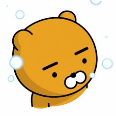 카카오 톡 이모티콘 Kakao Ryan, Gifs, Friends Gif, Kakao Friends, Friends Wallpaper, Line Sticker, Cute Characters, Emoticon, Cute Cards
