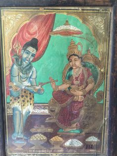 Mysore Painting, Kalamkari Painting, Tanjore Painting, Krishna Painting, Raja Ravi Varma, Traditional Paintings, Gem Stones, Shiva, Kerala