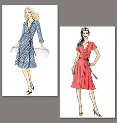 Very Easy Vogue V8379 (another DIY DVF and this one is cheaper than the Simplicity pattern)