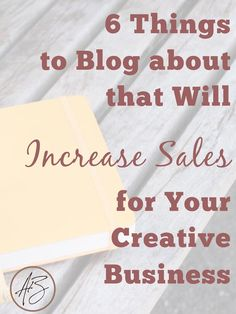 You don't have to blog about blogging to have a successful business! Learn the 6 topics that never fail when it comes to blogging for business.