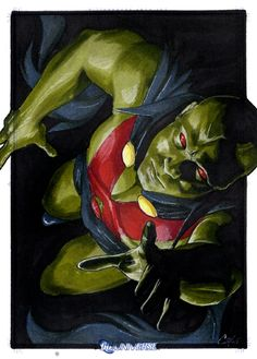 Martian Manhunter by Cat Staggs