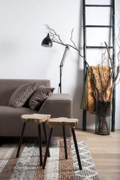 Zuiver - Tomorrow's design for today's interior Brown Interior, Country Interior, Interior Design Inspiration, Home Interior Design, Casual Decor, Tadelakt, Living Spaces, Living Room, Affordable Furniture