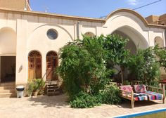 This is what a traditional guesthouse looks like.Backpacking Iran: All you need to know