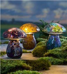 Main image for Glass Mosaic Mushroom Lawn Ornament Moon Garden, Garden Art, Night Garden, Glass Garden, Mosaic Glass, Glass Art, Outdoor Topiary, Mushroom Lights, Glass Mushrooms