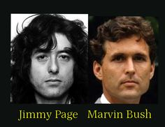 Jimmy Page is Marvin Bush