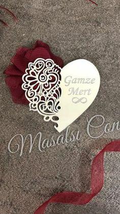 Brooch, Heart, Sweet, Weddings, Wooden Art, Candy, Brooches, Hearts