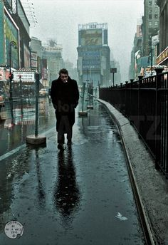 James Dean at Times Square