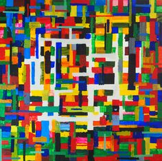 Into the light     by Leon Lester    Acrylic on canvas  2.0cm (D) x 35.0cm (H) x 35.0cm (W)  0.1 kg    Abstraction    abstract, Leon, Lester    click the picture to view a larger image.    $430.00 AUD